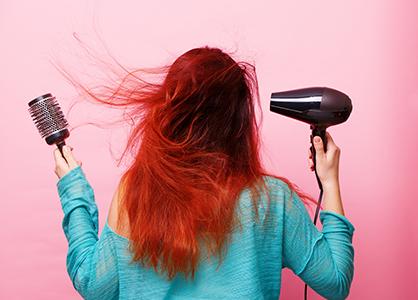 włosy u nasady - jak unieść
